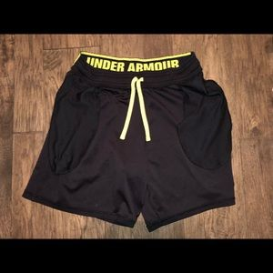 Under Armour Loose Fit Men's Basketball Shorts